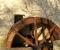 Restauration d'une roue à augets et installation d'un système de production d'électricité - La roue est terminée 13