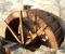 Restauration d'une roue à augets et installation d'un système de production d'électricité - La roue est terminée 14