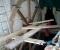 Restauration d'une roue à augets et installation d'un système de production d'électricité - Montage de la structure 5