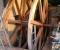 Restauration d'une roue à augets et installation d'un système de production d'électricité - Montage de la structure 13