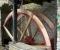 Restauration d'une grande roue à godets en chêne et en acier - Montage 11
