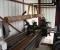 Restauration d'une grande roue à godets en chêne et en acier - Usinage de l'axe 1
