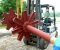 Restauration d'une grande roue à godets en chêne et en acier - Vues atelier mécanique 9