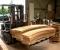Restauration d'une grande roue à godets en chêne et en acier - Vues atelier menuiserie 2