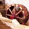Reconstruction d'une roue à arrivée d'eau au-dessus - La roue est terminée 1