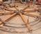Restauration d'une roue dans l'indre - En atelier 9