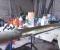 Balancier hydraulique Chateauvieux - Restauration des pompes 2