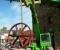 Conception, fabrication et installation d'une nouvelle roue et de son mécanisme pour la production d'électricité - Montage de la roue et des mécanismes 4