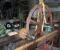 Conception, fabrication et installation d'une nouvelle roue et de son mécanisme pour la production d'électricité - Montage en atelier 2