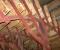 Reconstruction d'une roue de coté – Montage des aubes 4