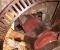 Restauration de mécanismes et d'appareils de meunerie - Restauration de la vanne et de l'axe 4
