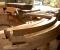 Restauration de deux roues « Monuments historiques » – Moulin de Lorentzen - En atelier 3