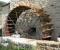 1Restauration d'une roue de poitrine en Lozère - La roue tourne