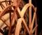 Installation d'une roue de type Sagebien - Montage de la structure 12