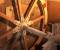 Restauration d'une roue à arrivée d'eau au-dessus - Montage sur place 3