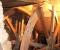 Restauration d'une roue à arrivée d'eau au-dessus - Montage sur place 4