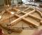 Restauration d'une roue à goitre rarissime - En atelier 6