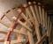 Restauration d'une roue à goitre rarissime - Montage de la roue 14