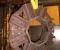 Reconstruction d'une roue à arrivée d'eau au-dessus - L'axe en atelier 1