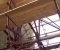 Installation d'une grande roue de type Sagebien - Montage des aubes 1