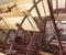 Installation d'une grande roue de type Sagebien - Montage des aubes 2