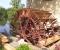 Installation d'une grande roue de type Sagebien - Montage des aubes 7