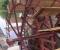 Installation d'une grande roue de type Sagebien - Montage des aubes 8
