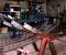 Restauration d'une grande roue de poitrine en Normandie - En atelier 1