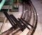 Restauration d'une grande roue de poitrine en Normandie - En atelier 2