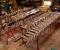 Restauration d'une grande roue de poitrine en Normandie - En atelier 3