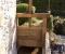 Restauration d'une grande roue de poitrine en Normandie - Les vannages 1