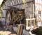 Restauration d'une grande roue de poitrine en Normandie - Montage des aubes 3