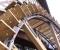 Restauration d'une grande roue de poitrine en Normandie - Montage des aubes 8