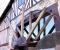 Restauration d'une grande roue de poitrine en Normandie - Montages des bras 11
