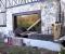 Restauration d'une grande roue de poitrine en Normandie - Montages des bras 4