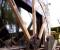 Restauration d'une grande roue de poitrine en Normandie - Montages des bras 7