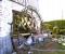 Restauration d'une grande roue de poitrine en Normandie - Montage des coyaux 1