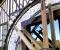 Restauration d'une grande roue de poitrine en Normandie - Montage des coyaux 3