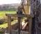 Restauration d'une grande roue de poitrine en Normandie - Montage des coyaux 9