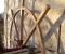Restauration d'une roue Sagebien - Pose de la structure en bois 4