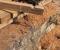 Restauration d'une roue Sagebien - Pose de la structure en bois 5