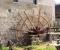 Restauration d'une roue Sagebien - Pose de la structure en bois 11