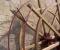 Restauration d'une roue Sagebien - Pose des cintres en acier 2