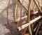 Restauration d'une roue Sagebien - Pose des cintres en acier 3