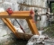 Restauration d'une très belle roue Zuppinger du XIXème - Montage des bras et cintres 1