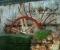 Restauration d'une très belle roue Zuppinger du XIXème - Montage des coyaux et des aubes 1