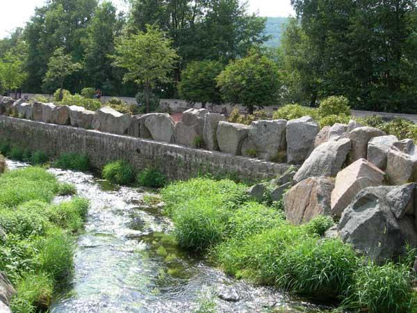Moulins et patrimoine installation d 39 une roue dans un for Dans in jardin
