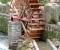 Installation d'une roue dans un jardin public - La roue est terminée 5