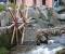 Installation d'une roue dans un jardin public - Montage de la roue 7