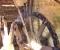 Restauration d'une roue type Poncelet - Démontage de la roue 2
